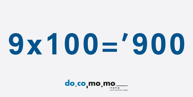 MOSTRA 9×100='900